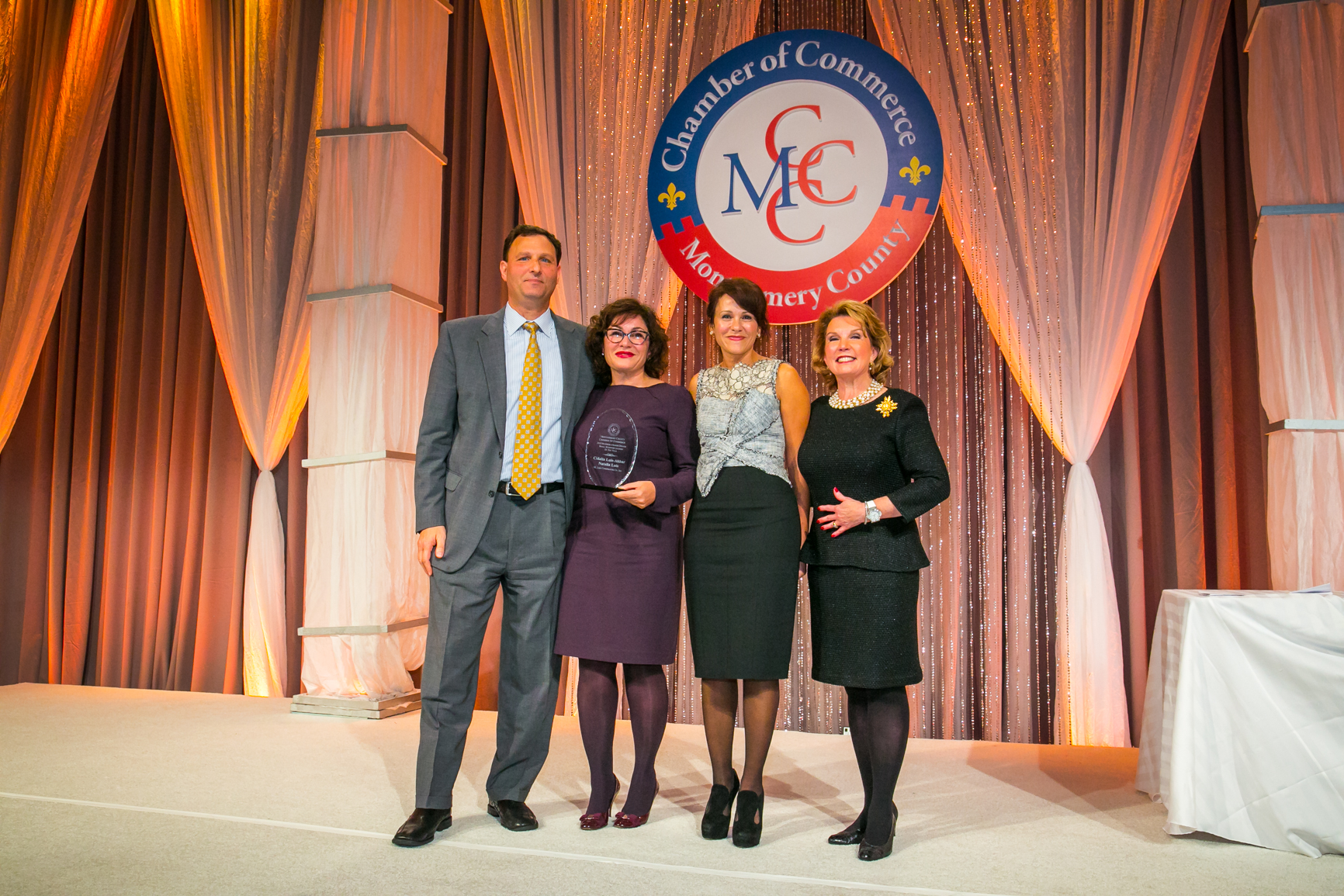 Sisters Receive MCCC Small Business Leader of the Year Award