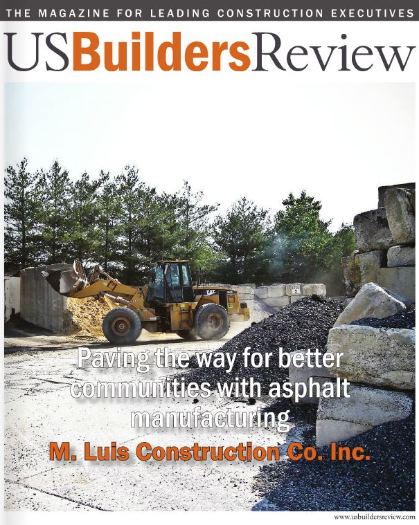 Magazine cover of US Builders Review from 2015